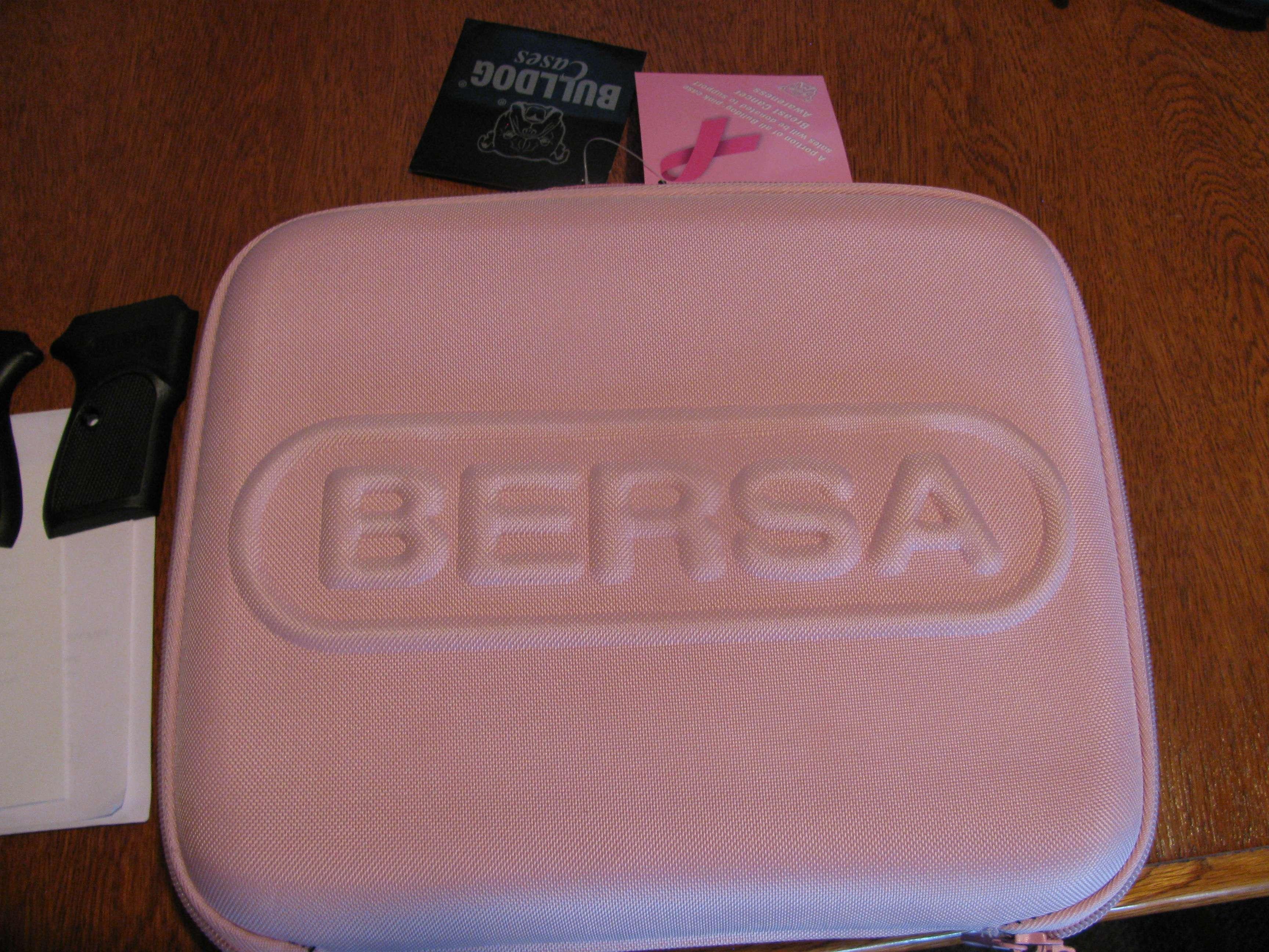 Pink Bersa - Semi-Auto Handguns