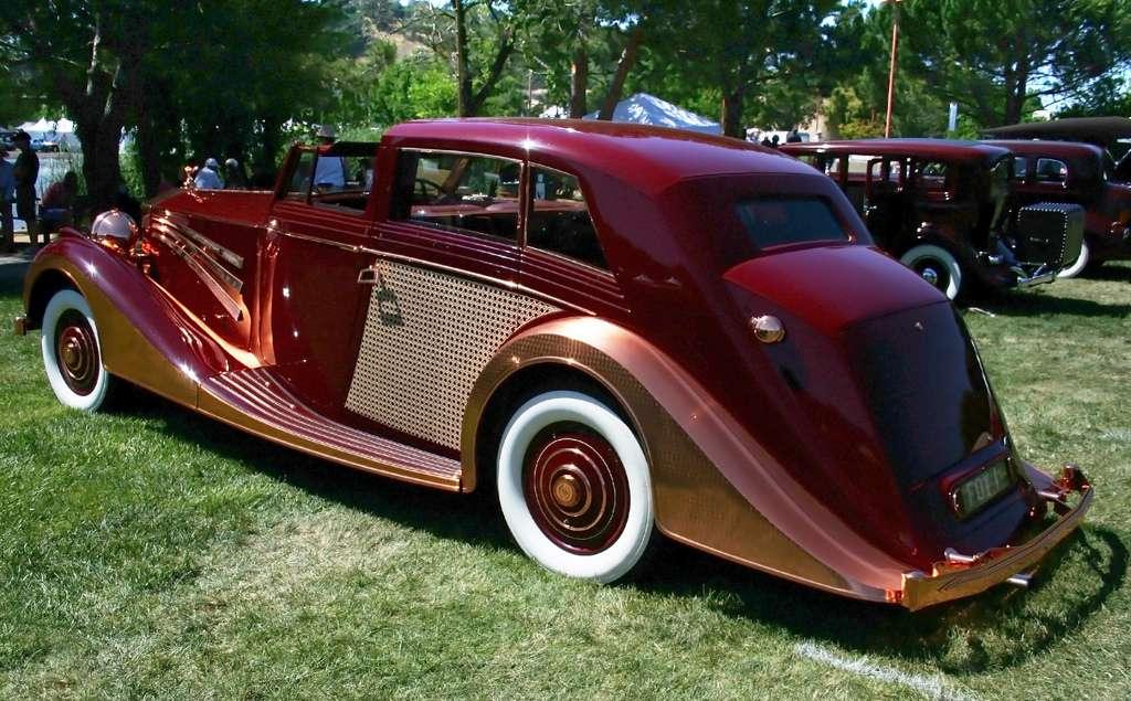 power cars rolls royce phantom iii sedanca saloon copper rolls by freestone webb. Black Bedroom Furniture Sets. Home Design Ideas