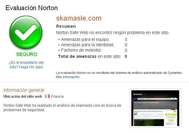 norton save web