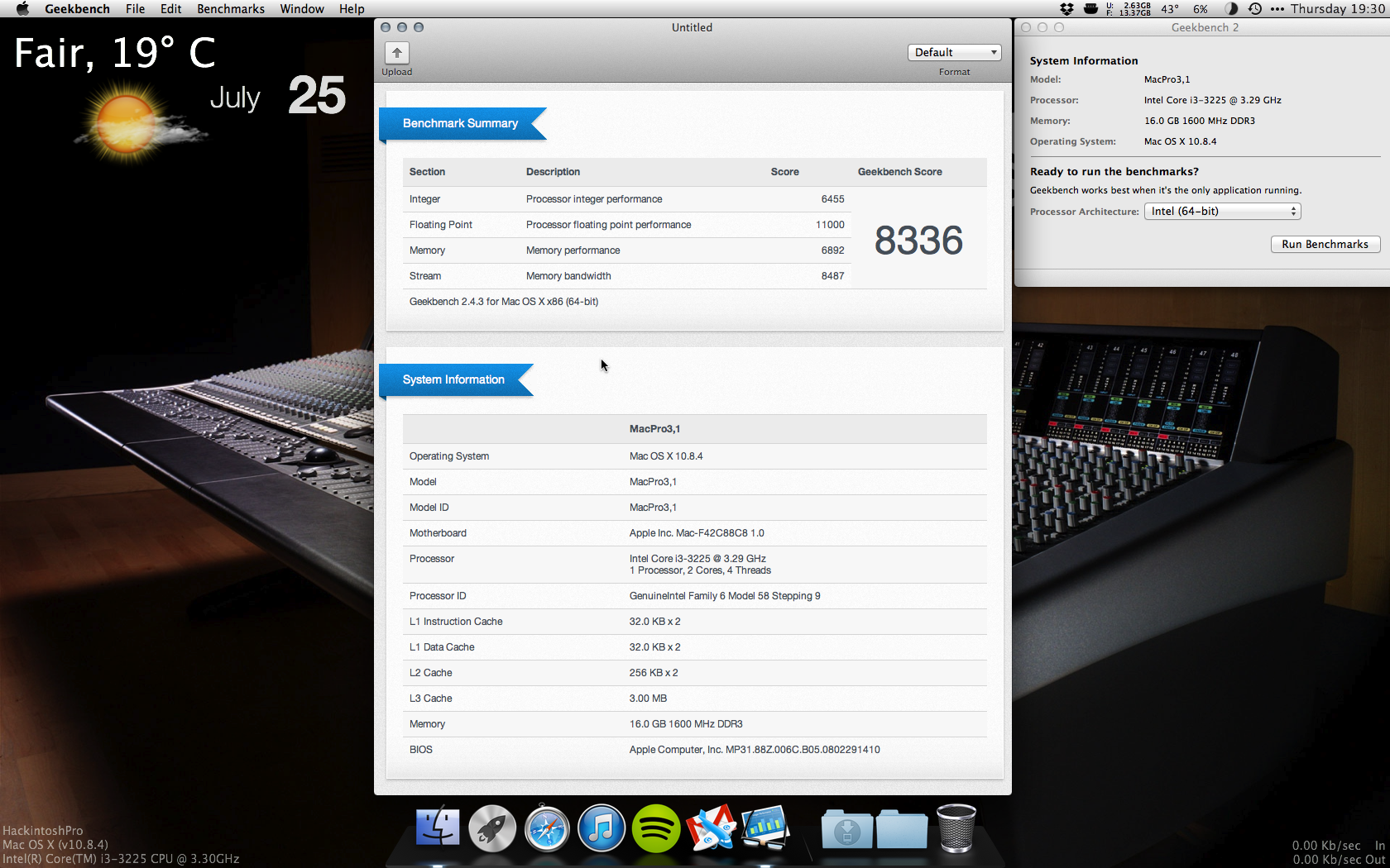 low geekbench score hackintosh macs - FREE ONLINE